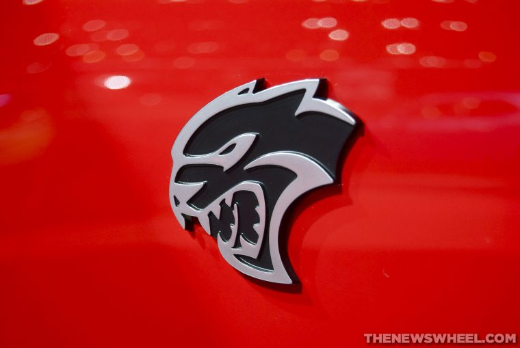 Dodge Hellcat badge logo meaning name origin