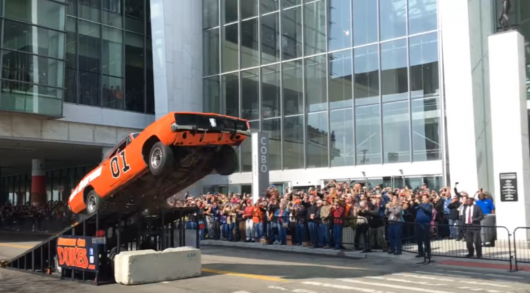"We'll ""Hazzard"" a guess and say that this won't end well Photo: MLive"