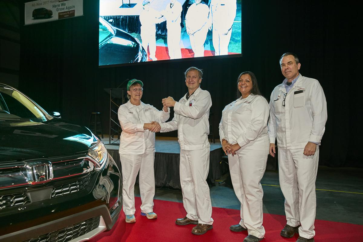 Honda Manufacturing of Indiana Begins CR-V Production ...