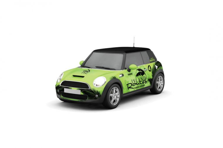 A MINI Cooper made for a big adventurePhoto: Island Routes Caribbean Adventures