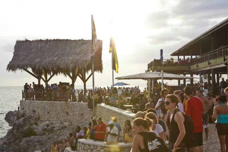 The Ricks Café in Negril, JamaicaPhoto: Island Routes Caribbean Adventures