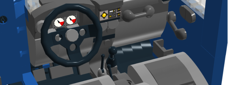 A look inside the LEGO Jeep Wrangler JKPhoto: LEGO Ideas