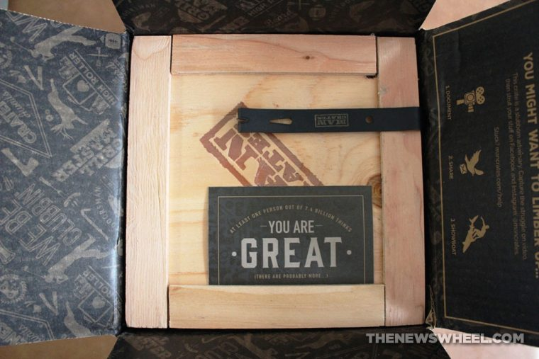 Man Crates NASCAR Barware Crate Review Unboxing contents Dale Earnhardt Jr shipment