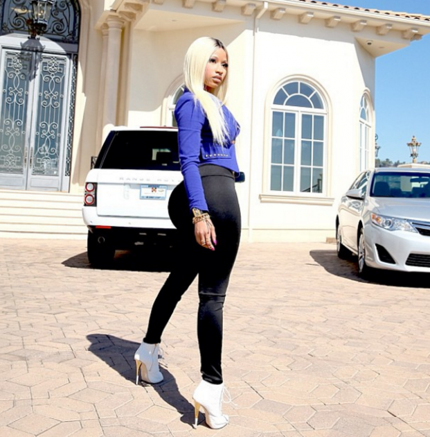 One of the most expensive cars owned by Nicki Minaj is her Range Rover