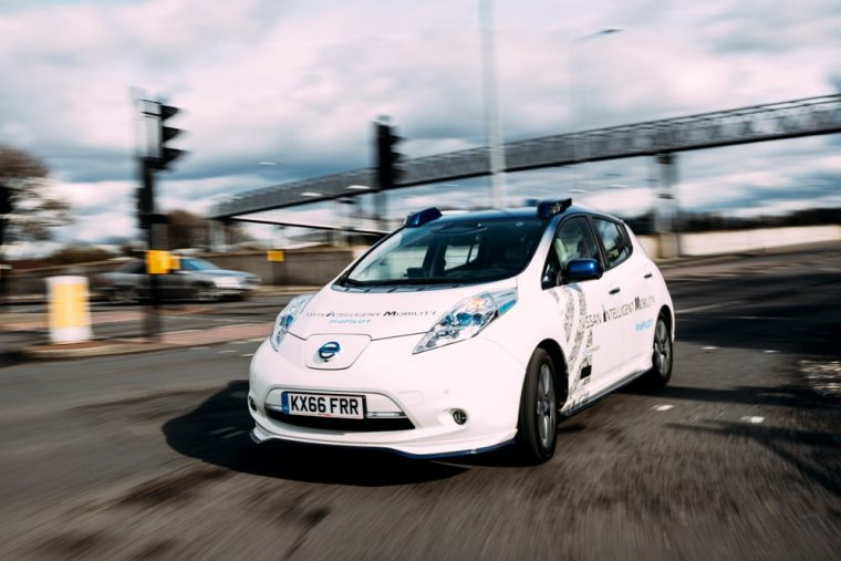 Nissan conducts on-road autonomous vehicle testing in Europe
