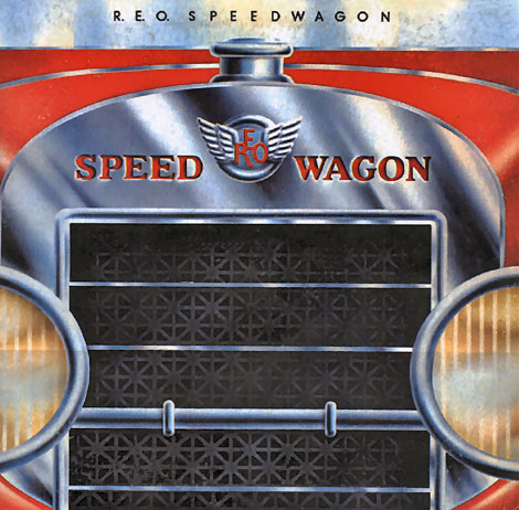 REO Speedwagen album cover music band car name