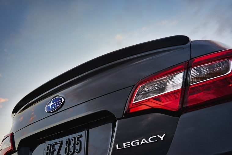 2018 Subaru Legacy at Chicago Auto Show
