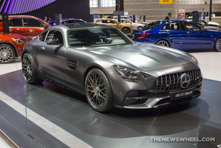 Mercedes-Benz brought its full fleet of vehicles to the 2017 Chicago Auto Show, including the 2017 Mercedes-AMG GT-C 50 Edition