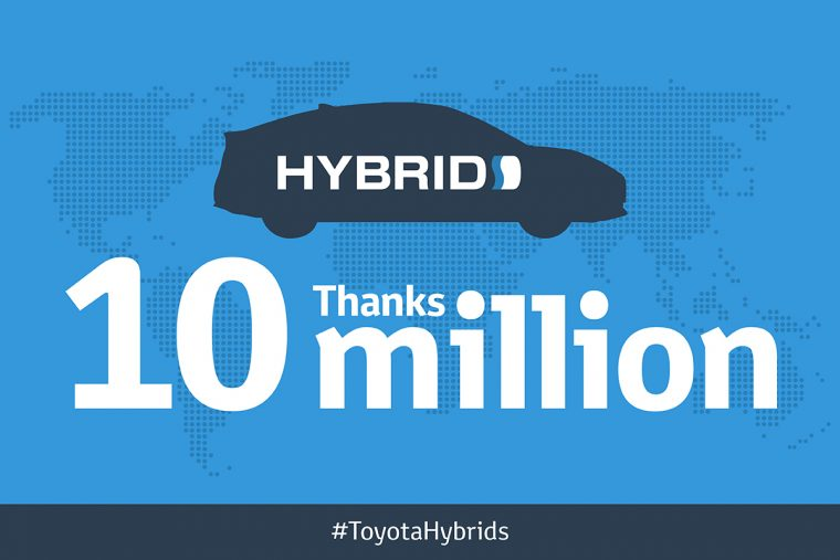 Toyota 10 Million Hybrid Sales