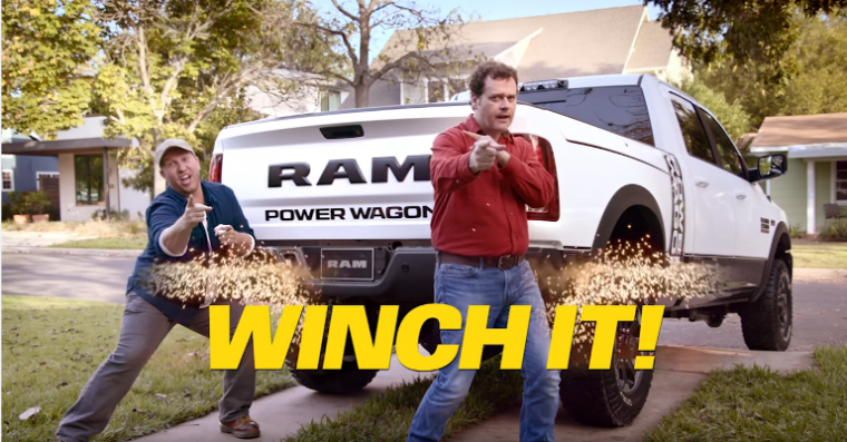 """Don't flinch it. Winch it!"""