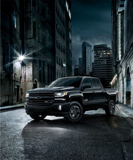 2017 Chevrolet Cheyenne Midnight Edition