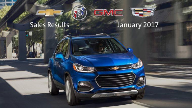 General Motors January 2017 sales