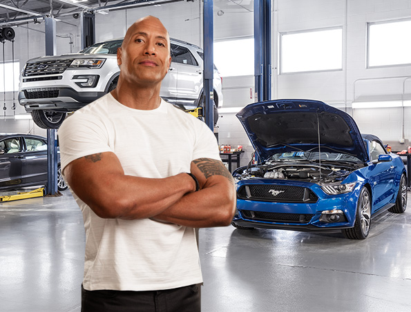 Dwayne The Rock Johnson Ford Ambassador of Service