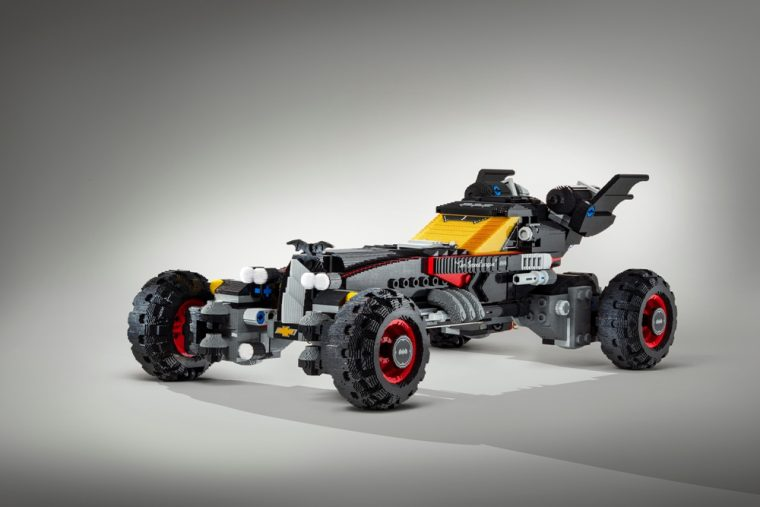 The LEGO batmobile is one of the new models that GM will be displaying at the 2017 Chicago Auto Show