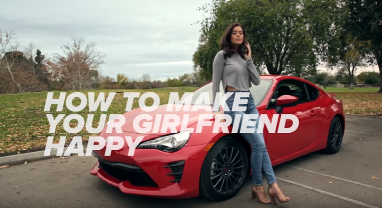 sexist toyota 86 commercial
