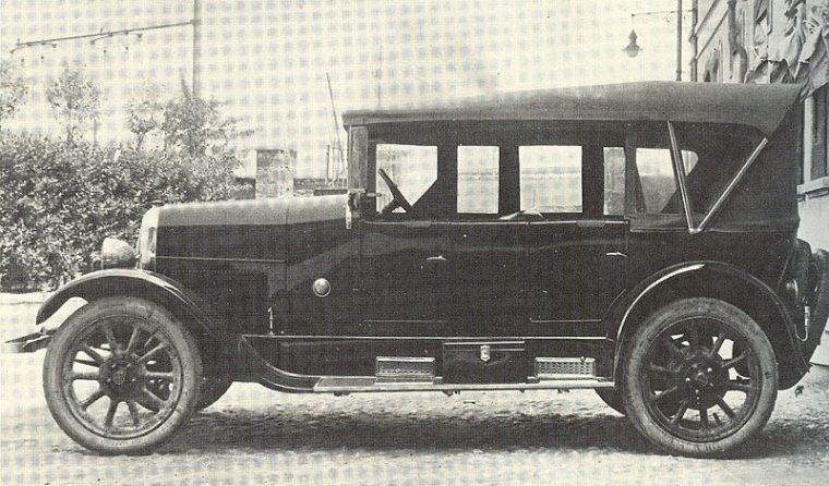 1924 Fiat 502 at the Geneva International Motor Show