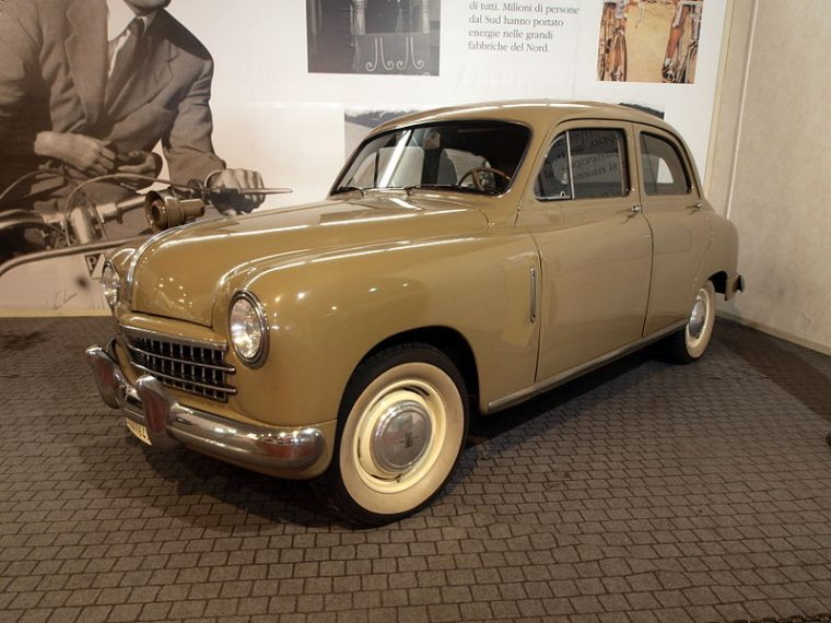 1950 Fiat 1400 at the Geneva International Motor Show