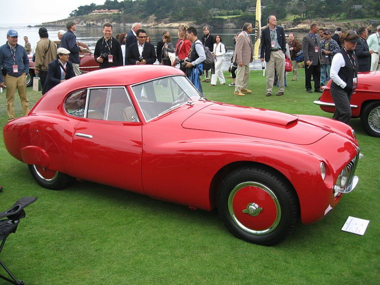 1952 Fiat 8V at the Geneva International Motor Show