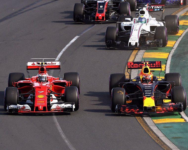 2017 Australian GP 1st Corner