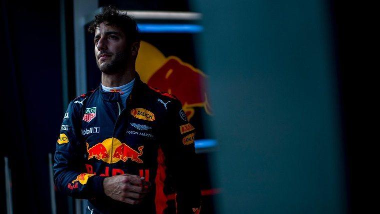 Sad Daniel Ricciardo