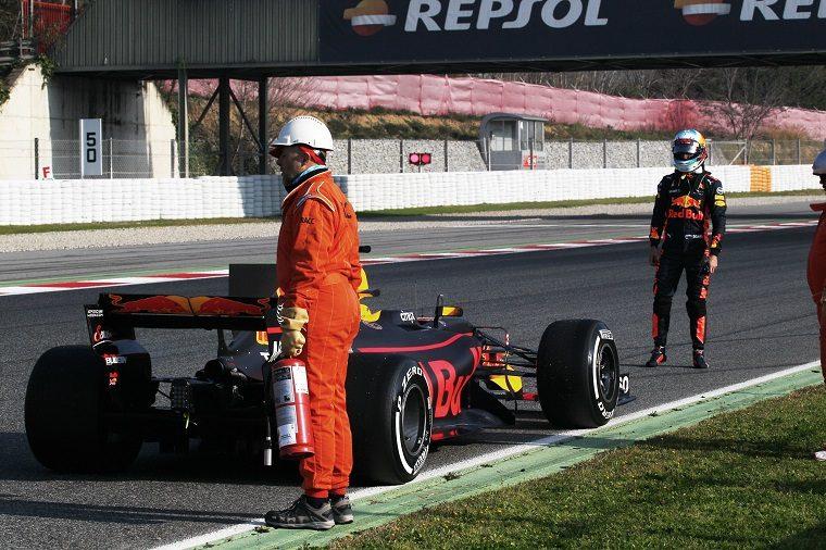 2017 F1 Pre-Season Week 1 - Red Bull