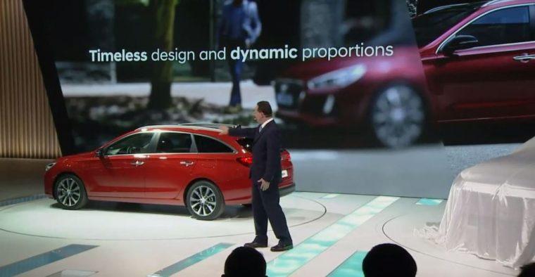 2017 Geneva Motor Show Hyundai reveal presentation in Europe