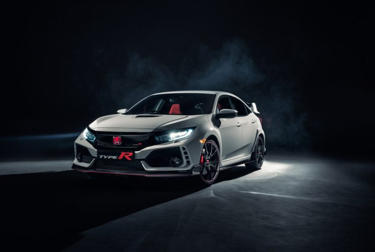 The production 2017 Honda Civic Type R debuts at the 2017 Geneva Motor Show