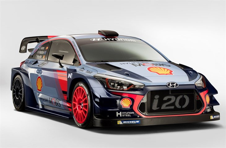 2017 Hyundai i20 Coupe WRC Racer best compact car