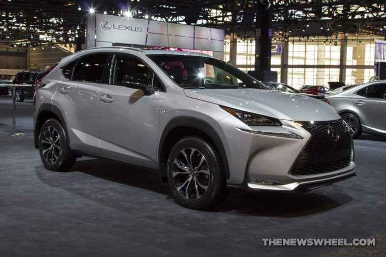 The 2017 Lexus NX carries a starting MSRP of $35,285 and is offered with both gasoline-powered and hybrid powertrians