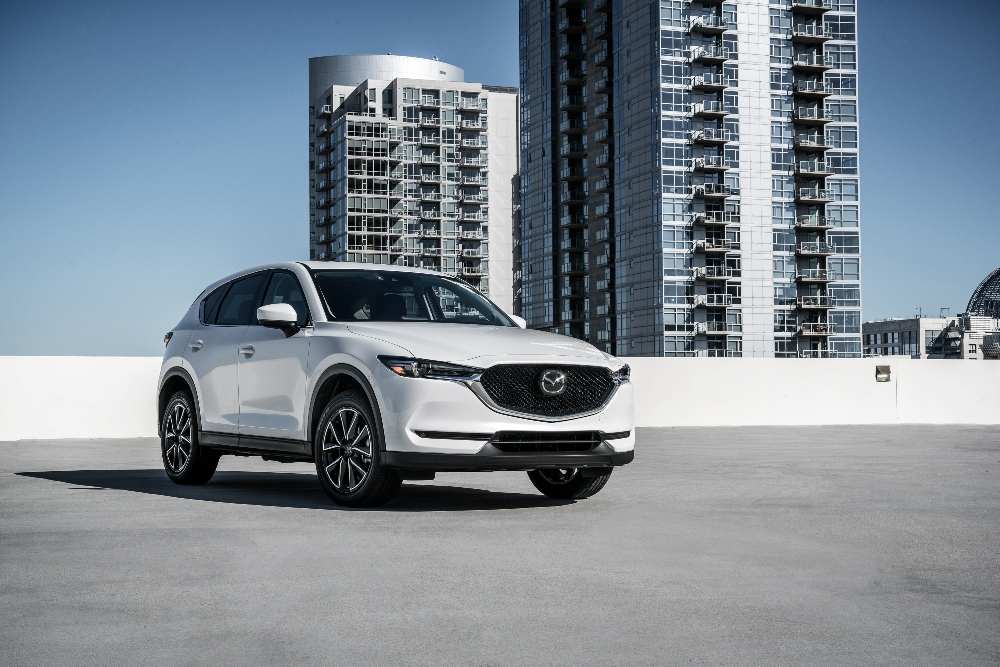 2017 mazda cx 5 white the news wheel. Black Bedroom Furniture Sets. Home Design Ideas
