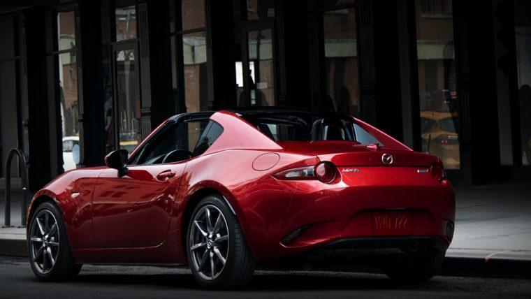 2017 mazda mx 5 miata rf overview the news wheel. Black Bedroom Furniture Sets. Home Design Ideas
