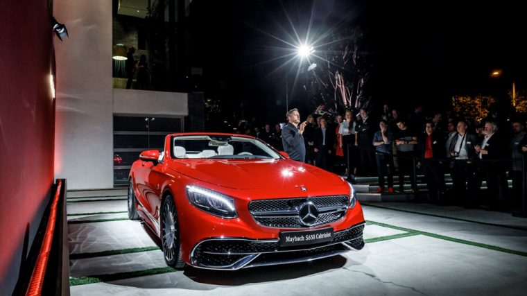The Mercedes-Benz Maybach S650 Cabriolet is one of the exciting vehicles that the German automaker is bringing to the New York International Auto Show