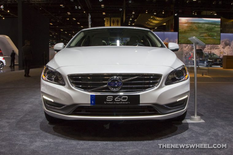 The 2017 Volvo S60 sedan carries a starting MSRP of $33,950 and was named a Top Safety Pick+ by the IIHS