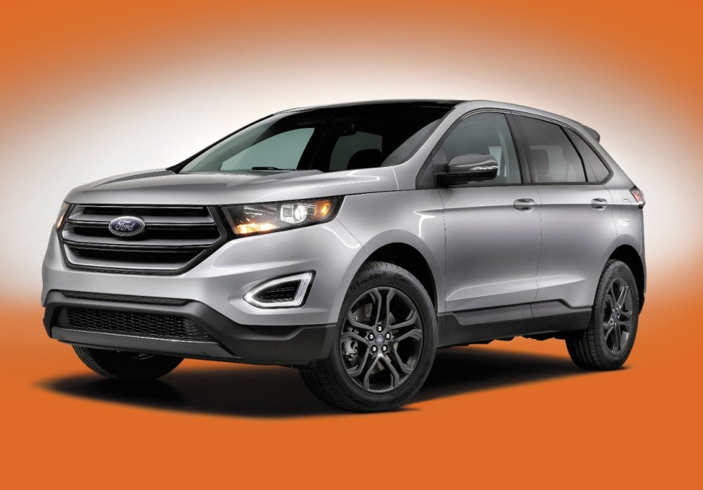 2018 Ford Edge SEL Sport Appearance Package | The News Wheel