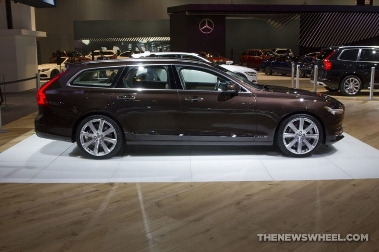 The all-new Volvo V90 wagon carries a starting MSRP of $49,950 in the US