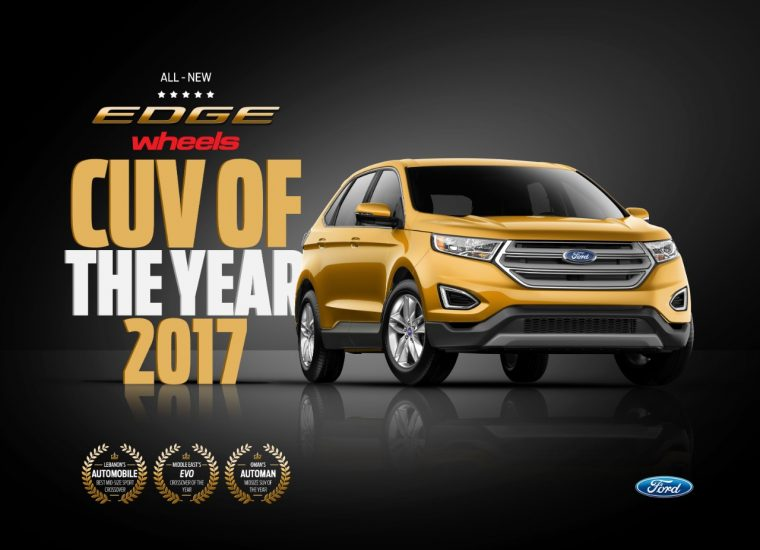 Ford Named Crossover Of The Year By Wheels Magazine