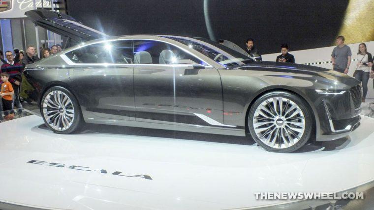 Cadillac showcased the Escala Concept in Geneva