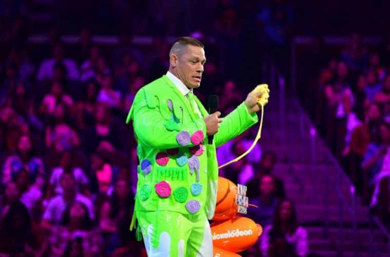 John Cena at the Nickelodeon Kids Choice Awards
