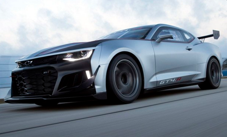 Chevrolet Unleashes the New Camaro GT4.R | The News Wheel