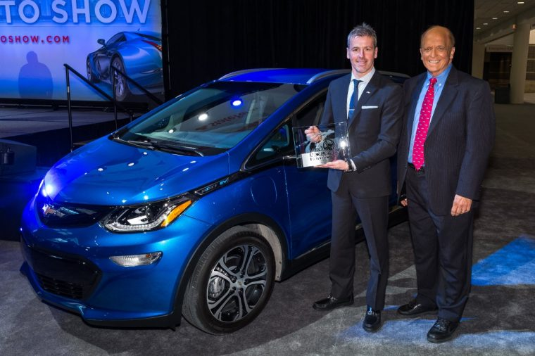 Chevy Bolt EV named MotorWeek Best of the Year