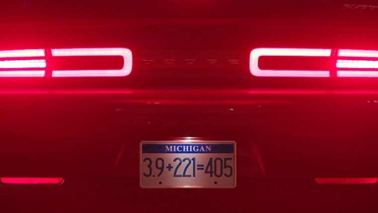 Never a shortage of mysterious numbers whenever the Dodge Demon is involved
