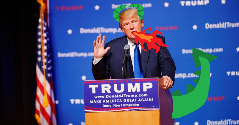 Dragon Donald Trump
