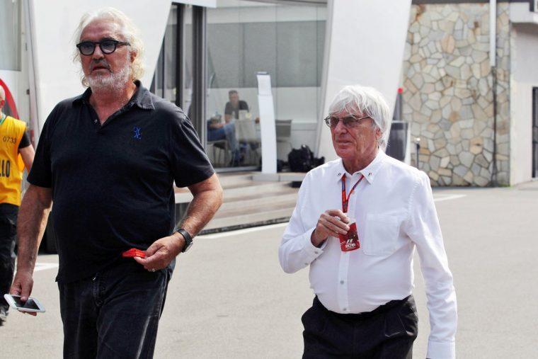 Flavio Briatore & Bernie Ecclestone