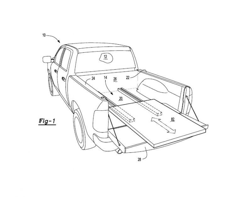 Ford F-150 sliding platform
