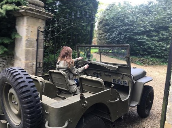 Geri Horner WWII Willys MB Jeep