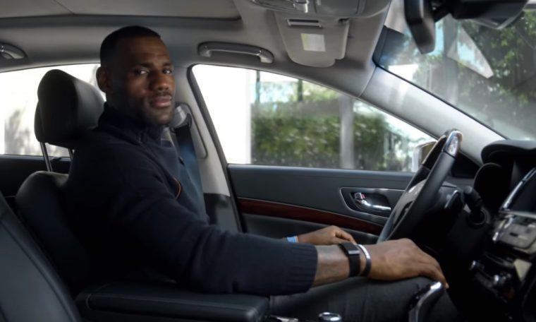 LeBron James and Kia