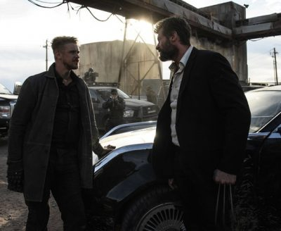 Logan movie X-men Wolverine Car 2024 Chrysler E8 300 limousine film model Jackman