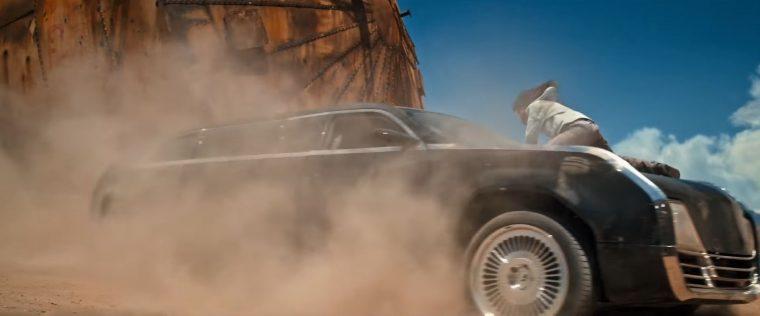 Logan movie X-men Wolverine Car 2024 Chrysler E8 300 limousine film model driving