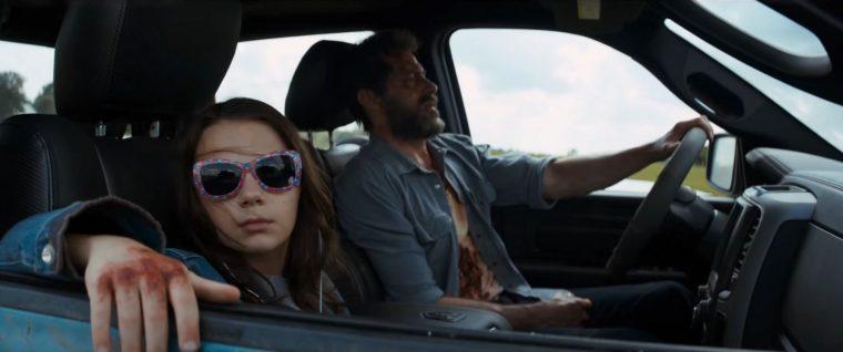 Logan movie X-men Wolverine Car 2024 Chrysler E8 300 limousine film model interior