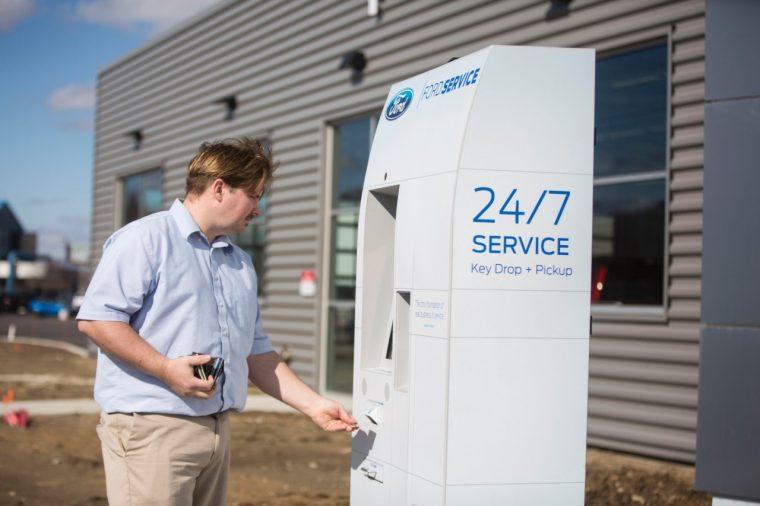 Ford Smart Service Kiosk